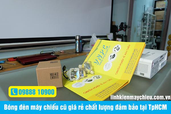 Bóng đèn máy chiếu cũ giá rẻ chất lượng đảm bảo tại TpHCM